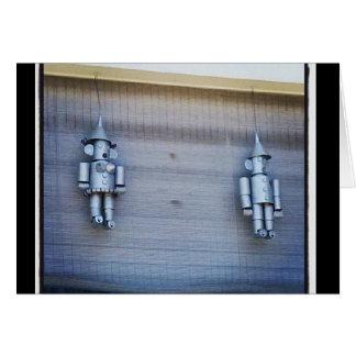 Tin Man & Tin Woman Card