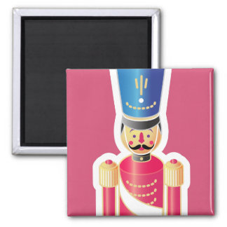 Tin Soldier Icon Square Magnet