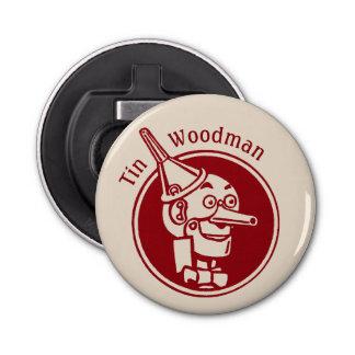 Tin Woodman (Tin Man) Face CC0899 Wonderful Wizard Bottle Opener