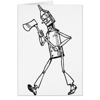 Tin Woodsman Card