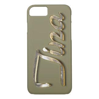 """""""Tina"""" Custom Monogram iPhone 7 Case"""