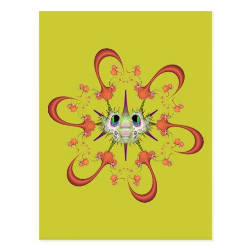 Tinaroo with Anti-Virus Post Card