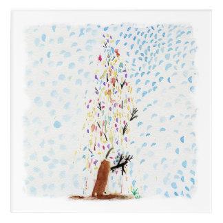 Tinca's Drawings. Christmas Tree Acrylic Print