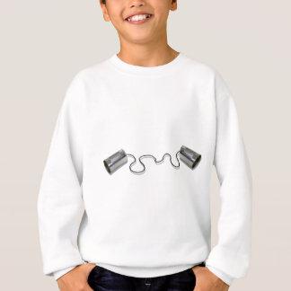 TinCansString061210Shadows Sweatshirt