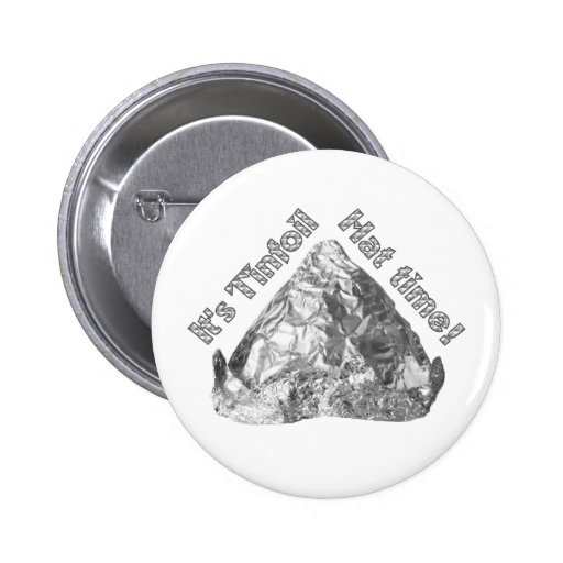 Tinfoil Hat Time Button