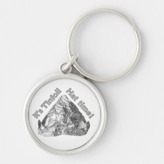 Tinfoil Hat Time Keychains