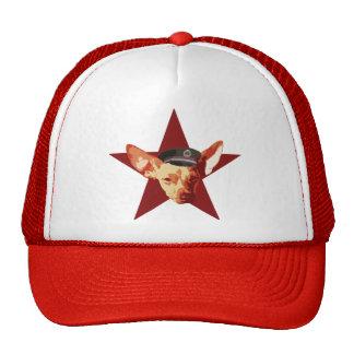 TING Regime Officer's Cap Mesh Hats