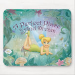 Tinker Bell Laying Down Mousepad