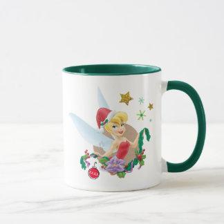 Tinker Bell | Tinker Bell In Santa Hat Mug