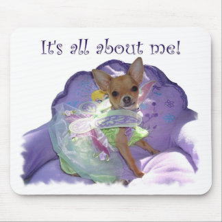 "Tinkerbell ""It's all about me!"" Mouse Pad"