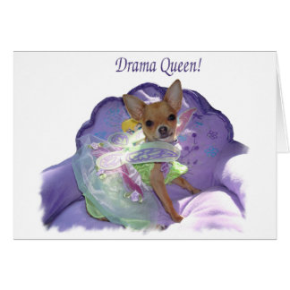 "Tinkerbell the ""Drama Queen!"" Card"