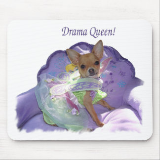 "Tinkerbell the ""Drama Queen"" Mouse Pad"