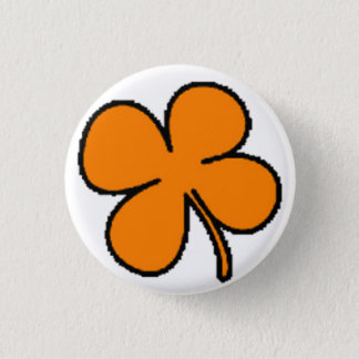 Tink's Orange Clover Collection 3 Cm Round Badge
