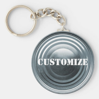 Tinplate Template Key Ring