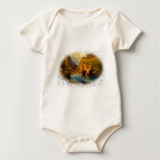 Tintagel, King Arthur's Castle Baby Bodysuit