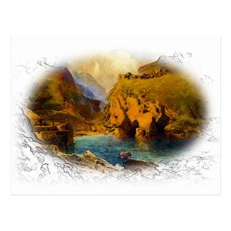 Tintagel, King Arthur's Castle Postcard