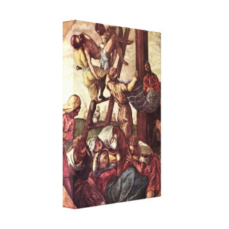 Tintoretto - Cross Gallery Wrapped Canvas