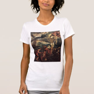 Tintoretto-St Mark Rescuing Saracen from Shipwreck T Shirt