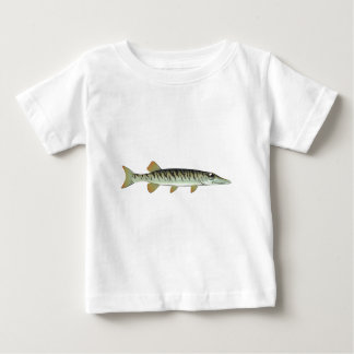 Tiny baby muskie Vector Art Fish Farm Baby T-Shirt