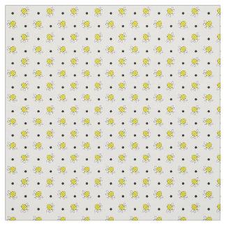 Tiny Bumble Bee Pattern Custom Fabric
