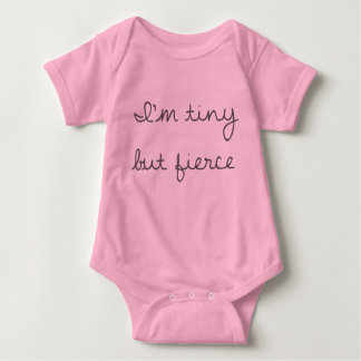 Tiny But Fierce Baby Jersey Bodysuit