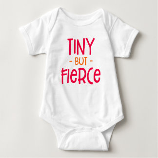 Tiny But Fierce Preemie. Baby Bodysuit