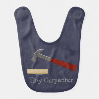 Tiny Carpenter Baby Bib