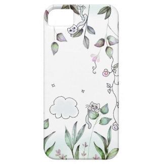 Tiny Cat Garden iPhone 5 Cover