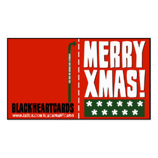 Tiny Christmas Cards Pack Of Standard Business Cards