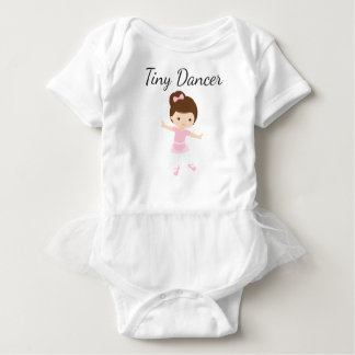 Tiny Dancer Ballerina Baby Bodysuit