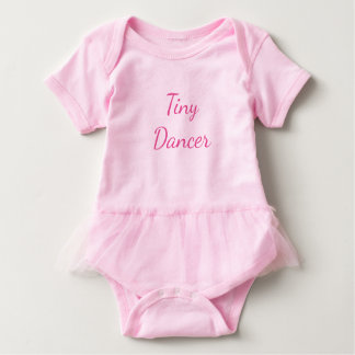 Tiny Dancer Vest Baby Bodysuit