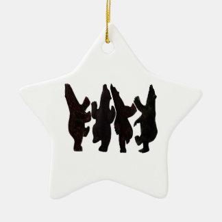 Tiny Dancers Ceramic Ornament
