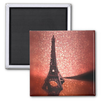 Tiny Eiffel Square Magnet