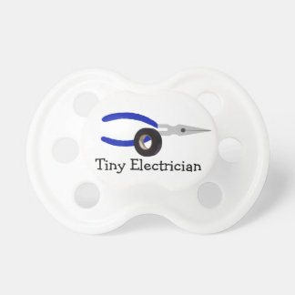 Tiny Electrician Pacifier