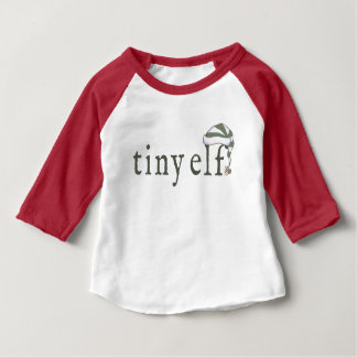 Tiny Elf Kids Raglan T-shirt