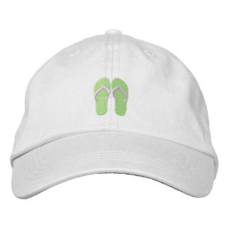 Tiny Flip Flops Embroidered Hat