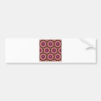 Tiny Floral Pattern Bumper Sticker