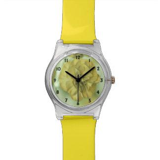 Tiny Flowers Yellow Watch