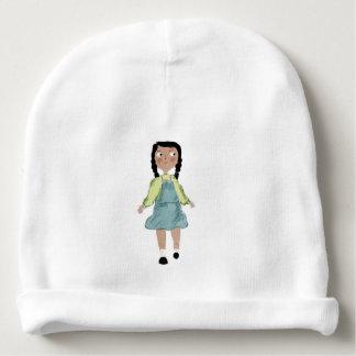 tiny girl baby beanie