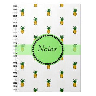 Tiny Golden Pineapples Notebook