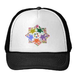 Tiny Hearts  -  Happy Aquatic Family Dance Trucker Hat