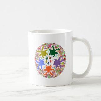 Tiny Hearts  -  Happy Aquatic Family Dance Mug