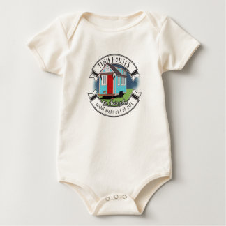tiny house baby bodysuit