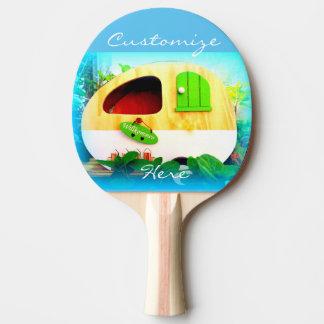 Tiny house gypsy caravan ping pong paddle