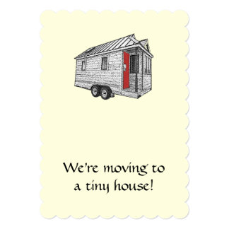 Tiny House Moving Announcement
