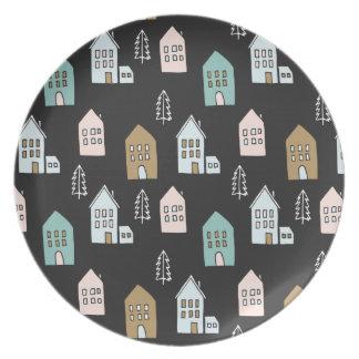 Tiny Houses Print Plate