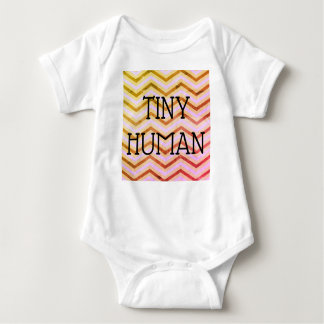 TINY HUMAN BODY SUIT BABY BODYSUIT