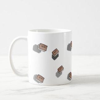 tiny ice cream sandwich basic white mug