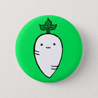 Tiny Judgmental Radish Pin