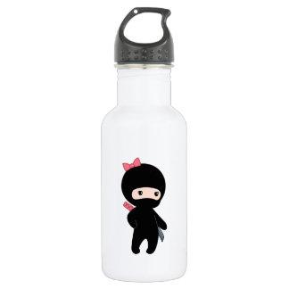 Tiny Ninja Girl 532 Ml Water Bottle